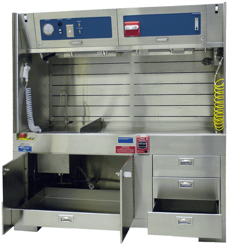 Chemical-Workstation-Manual-Wet-Bench
